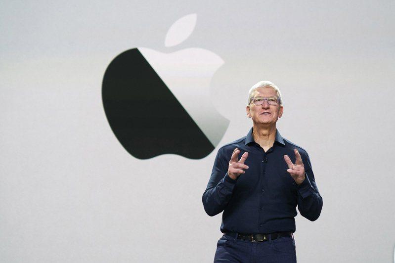 蘋果執行長庫克。歐新社