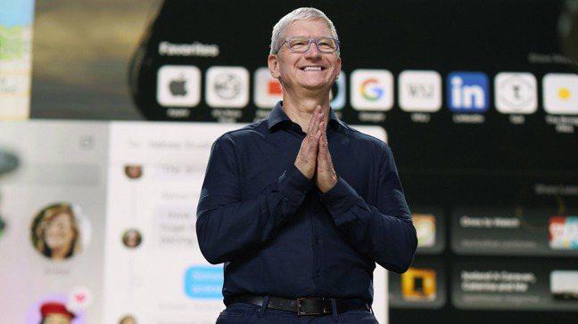 蘋果執行長庫克主持22日的2020年全球開發者大會。 圖/歐新社