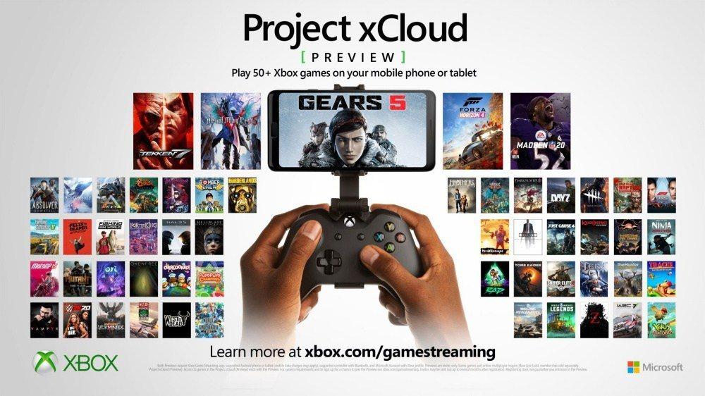 微軟推出的串流遊戲服務,利用手機跟手把,連上網路就可以玩到各種大作而不用任何家機...