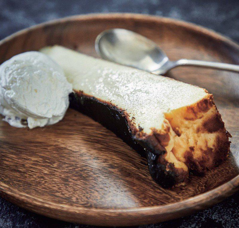 傳統風味巴斯克乳酪蛋糕。圖/采實文化提供