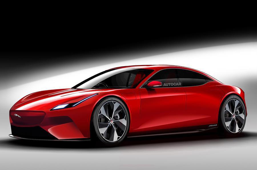 Jaguar新型小車預想圖。 摘自Autocar
