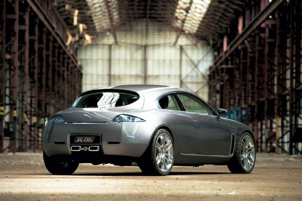 Jaguar R-D6 Concept。 摘自Jaguar