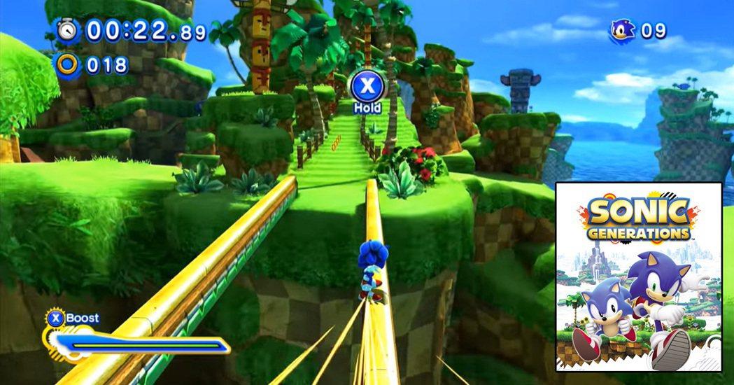 2011 年在 PS3 等主機上推出的《音速小子世代:純白時空》(Sonic G...