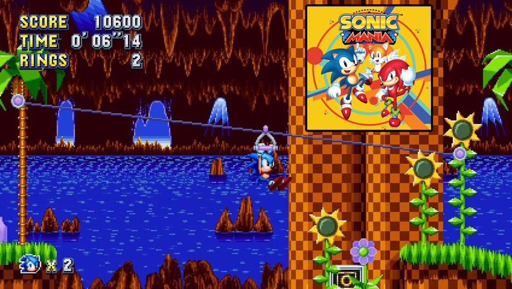 在 2017 年推出的《音速小子:狂熱》(Sonic Mania)將過往 16 ...