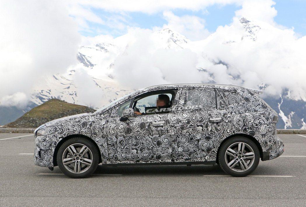 大改款BMW 2 Series Active Tourer預計在今年底率先於歐洲...