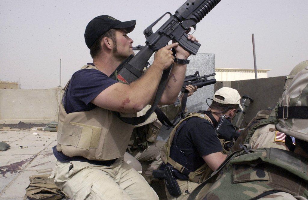 黑水為一私人軍事公司,在全球提供保全與軍事訓練等服務。 圖/美聯社