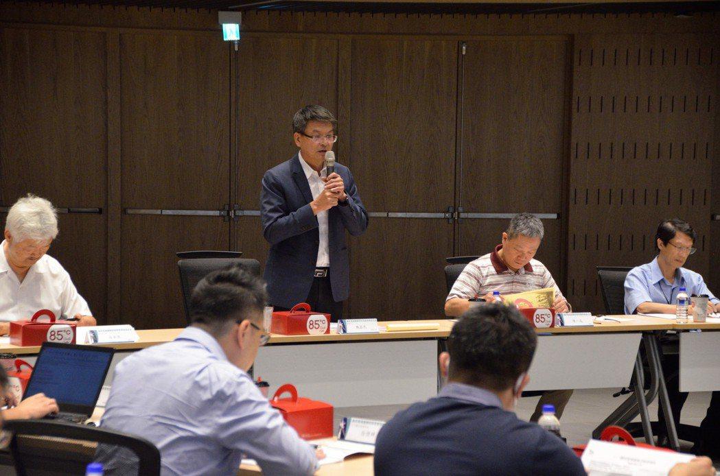 金屬中心副執行長魏嘉民說明離岸風場運維在地化重要性。 金屬中心/提供