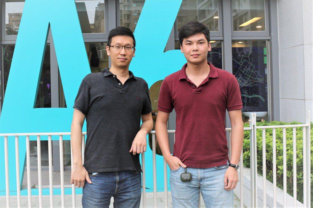 谷林運算商務拓展行銷長金柏樞(右)及馮輝譯領著技術團隊瞄準智慧製造巿場。