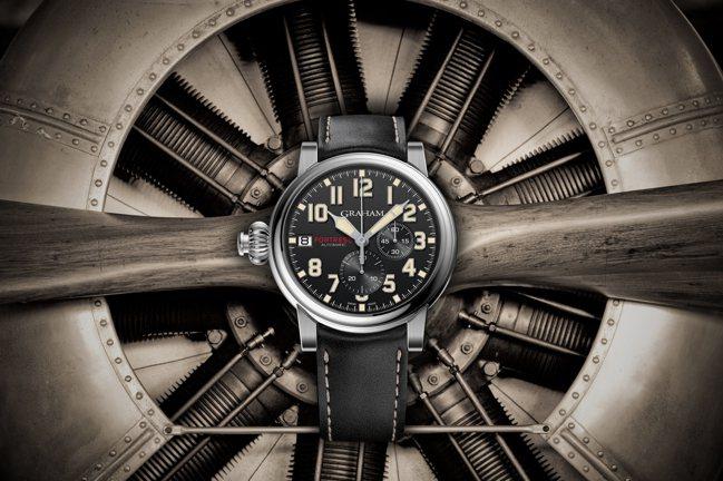 Graham,Fortress堡壘限量計時腕表,精鋼,47毫米,自動上鍊機芯,時...