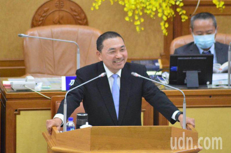 新北市長侯友宜聲稱前副市長李四川回來當市長他都願意。記者施鴻基/攝影