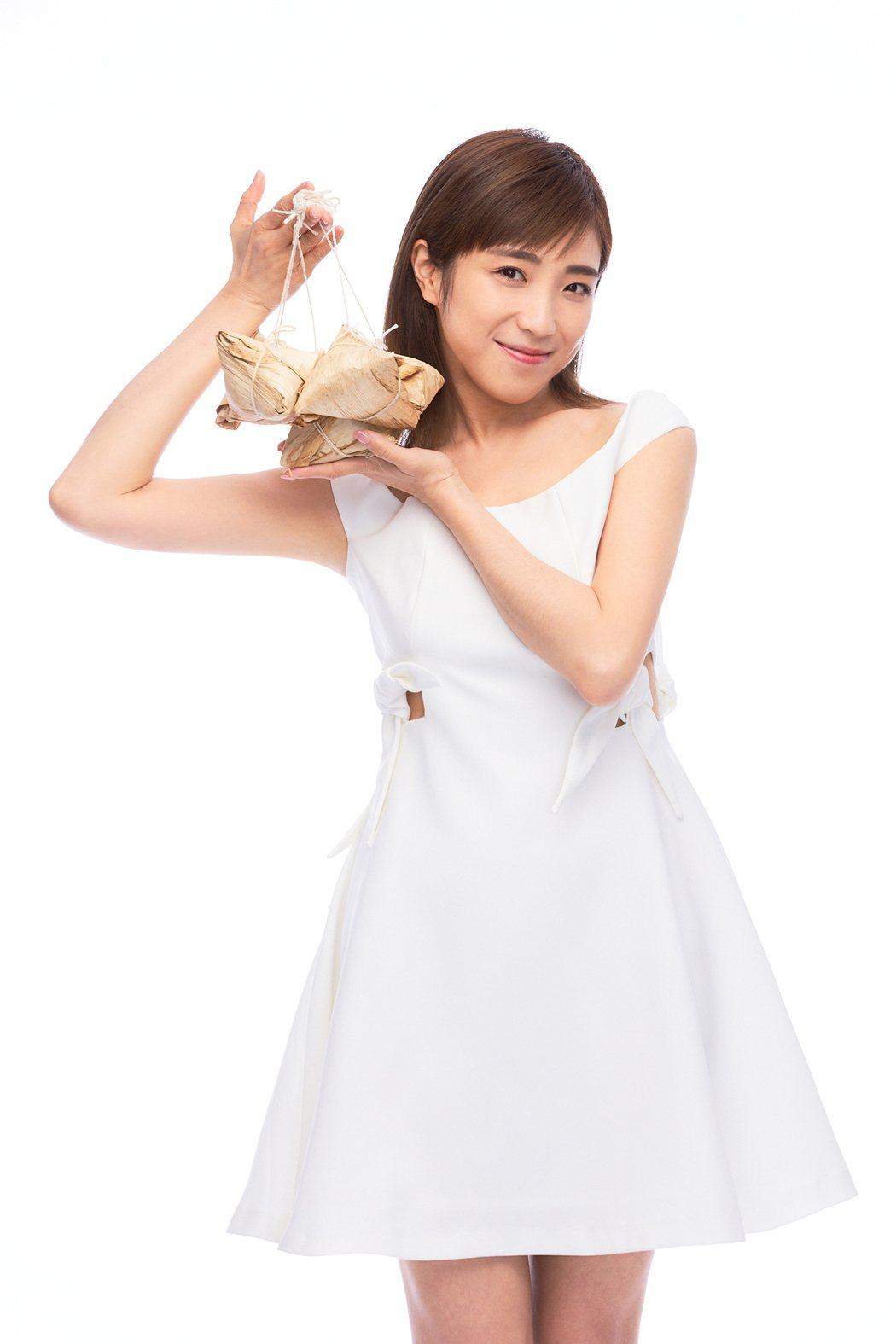 梁舒涵愛吃粽子卻怕熱量高,直呼忍得很辛苦。圖/LiTV 、開麗提供