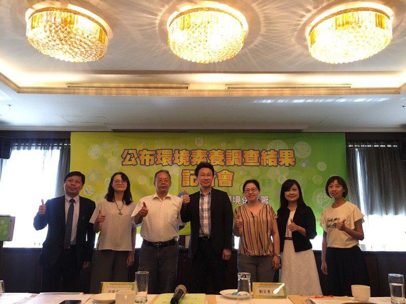 環保署今天發布全台環境素養報告。記者吳姿賢/攝影