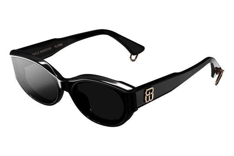 Gentle Wu系列GW003太陽眼鏡8,910元。圖/溥儀眼鏡提供