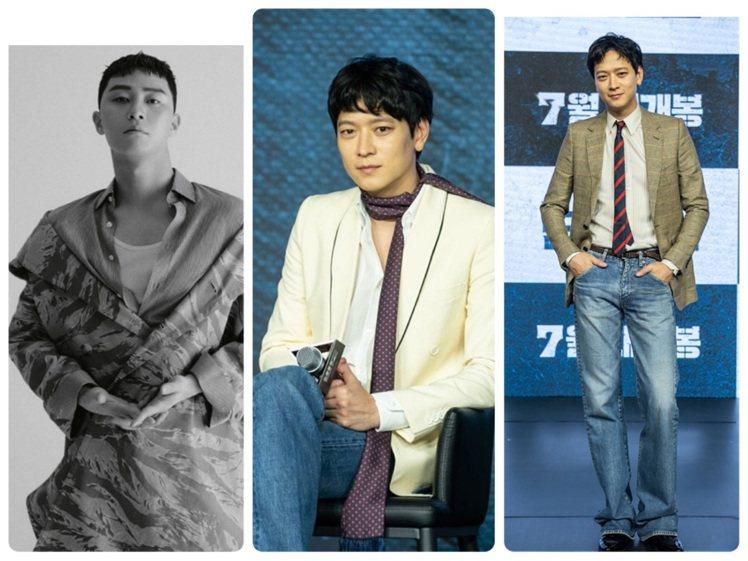 朴敘俊和姜棟元近期都選穿了CELINE春夏男裝。圖/CELINE BY HEDI...