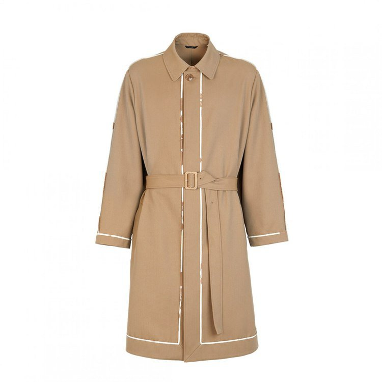 FENDI 2020春夏系列男仕設計長大衣,價格店洽。圖/FENDI