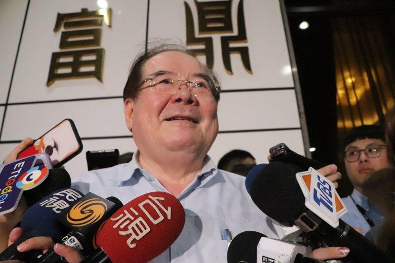 國民黨秘書長李乾龍今在家中舉辦餐會。記者吳亮賢/攝影