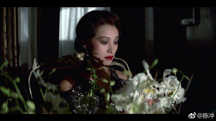 陳沖演出「末代皇帝」的女主角。圖/摘自微博