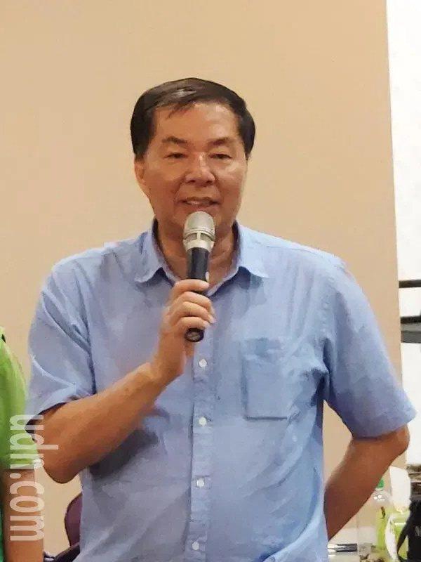 民進黨台南市黨部主委潘新傳。記者謝進盛/攝影