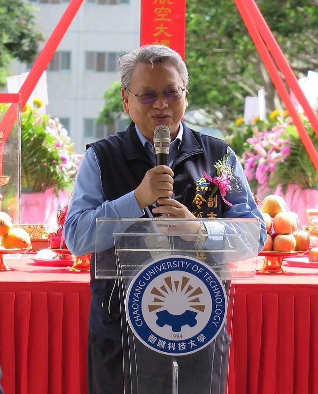 臺中市副市長令狐榮達。 蔣佳璘/攝影