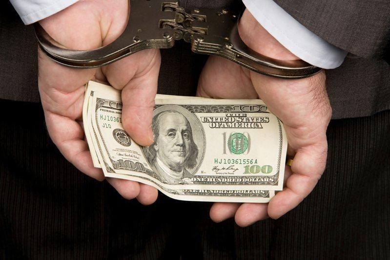 涉洗黑錢,一名中文大學女學生遭警逮捕。示意圖/ingimage授權