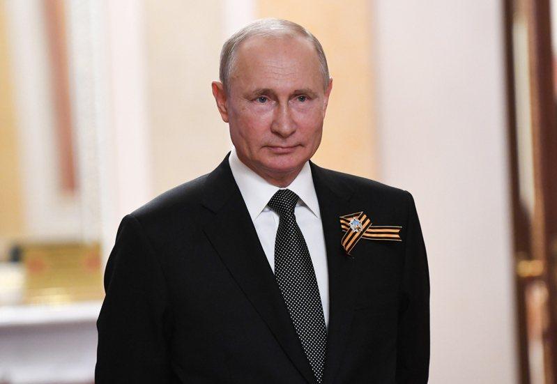 俄羅斯總統普亭。 歐新社