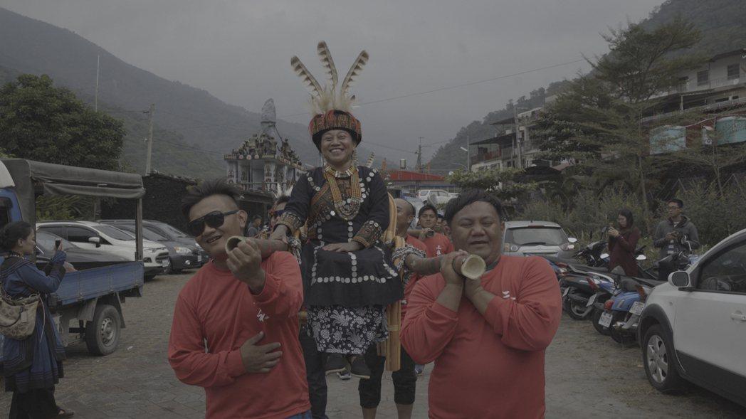 《阿查依蘭的呼喚》是台灣首部以「女頭目」為紀錄對象的電影紀錄片。 圖/久藝傳播提...
