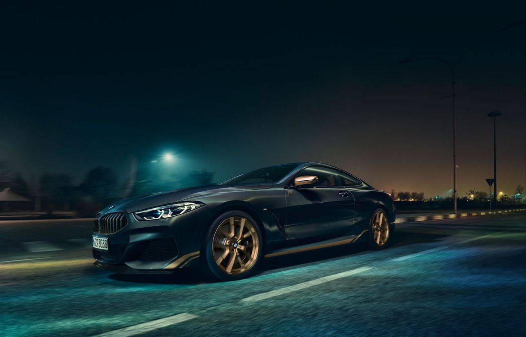 BMW 8 Series Golden Thunder Edition。 摘自B...