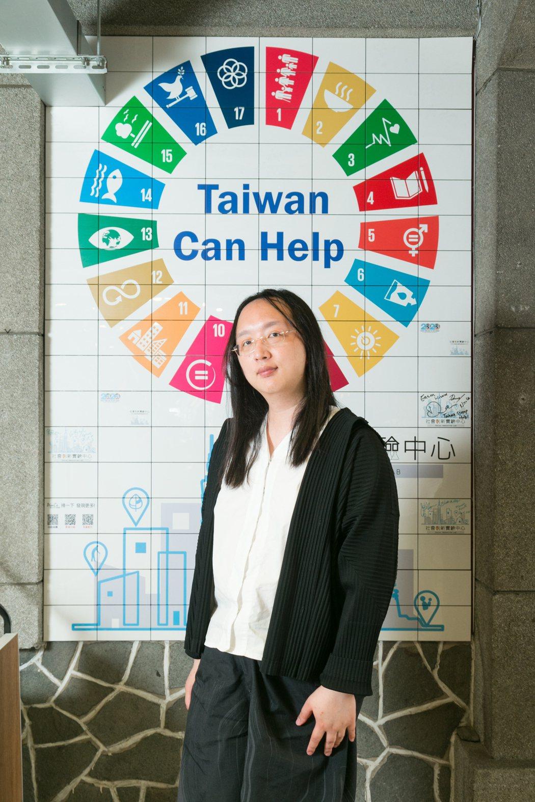 唐鳳投入數位外交,期望提高台灣的國際參與度。記者陳立凱/攝影