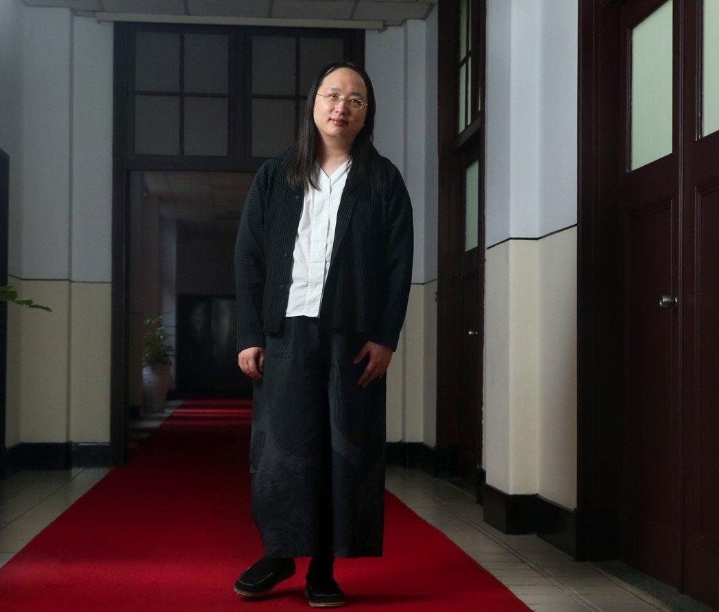 行政院政委唐鳳。記者林澔一/攝影