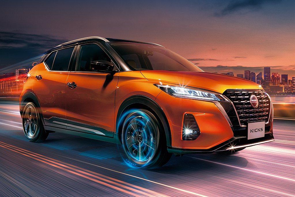 日規Nissan Kicks e-POWER的電動馬達,可發揮馬力129ps、扭...