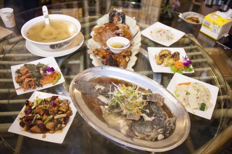 關子嶺風景區美食。 圖/台南市政府觀旅局提供