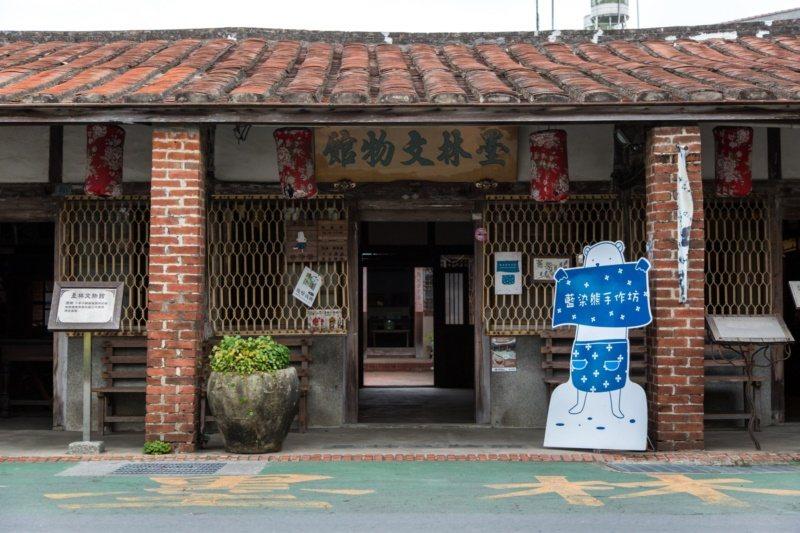 台南後壁墨林文物館,饒富古味。 圖/台南市政府觀旅局提供