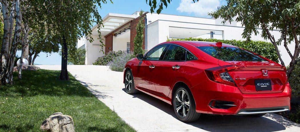 日本國產Civic Sedan在2019年全年度銷售不到2,000輛。 摘自Ho...