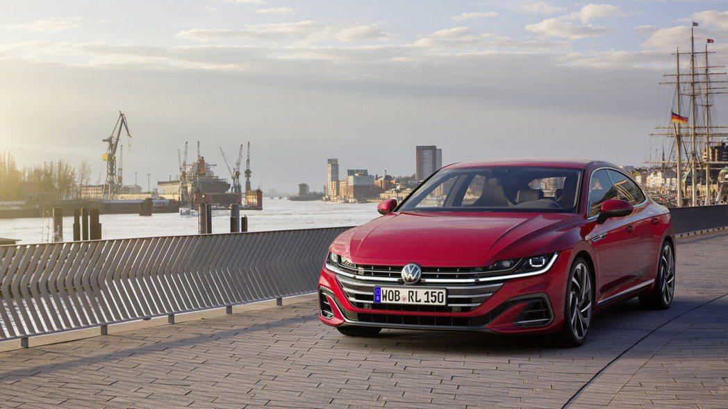 小改款Volkswagen Arteon。 摘自Volkswagen