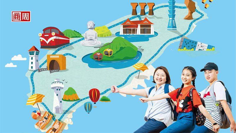 想去的地方很多,孩子和爸媽召開多次行前會,花費一個月準備環島行程。(攝影者:郭涵羚)