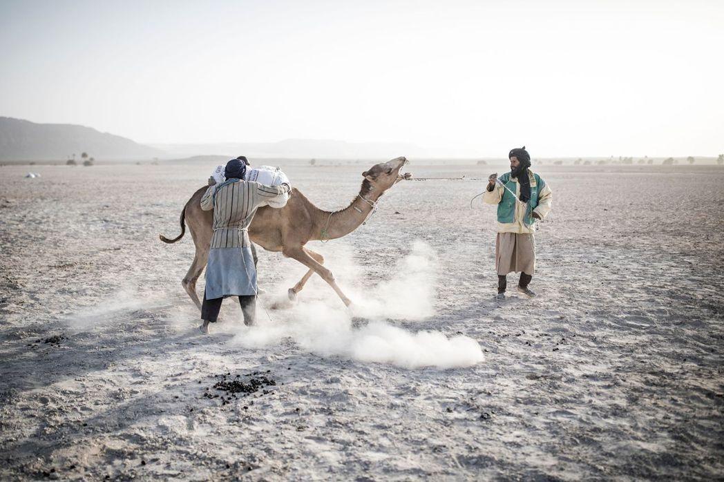 圖為非洲茅利塔尼亞的撒哈拉沙漠。一般來說,撒哈拉沙塵雲帶在穿越大西洋途中,顆粒較...