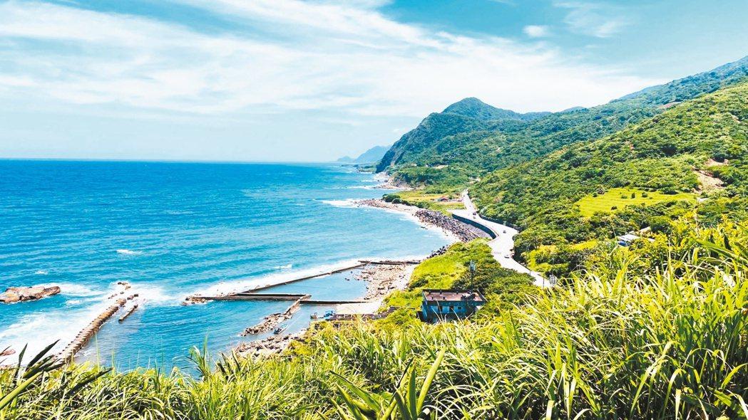 台灣東海岸線。 圖/王思慧攝影