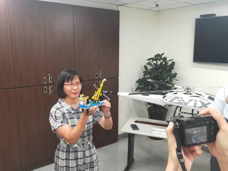 環保署開始建置跨部會平台,並利用無人機執法,加強環評監督力道。(Photo by 呂翔禾/台灣醒報)