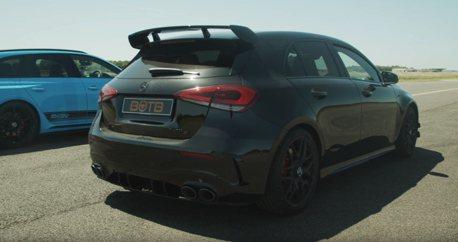 影/Mercedes-AMG A45又來跨級挑戰了!Audi RS4 Avant接招