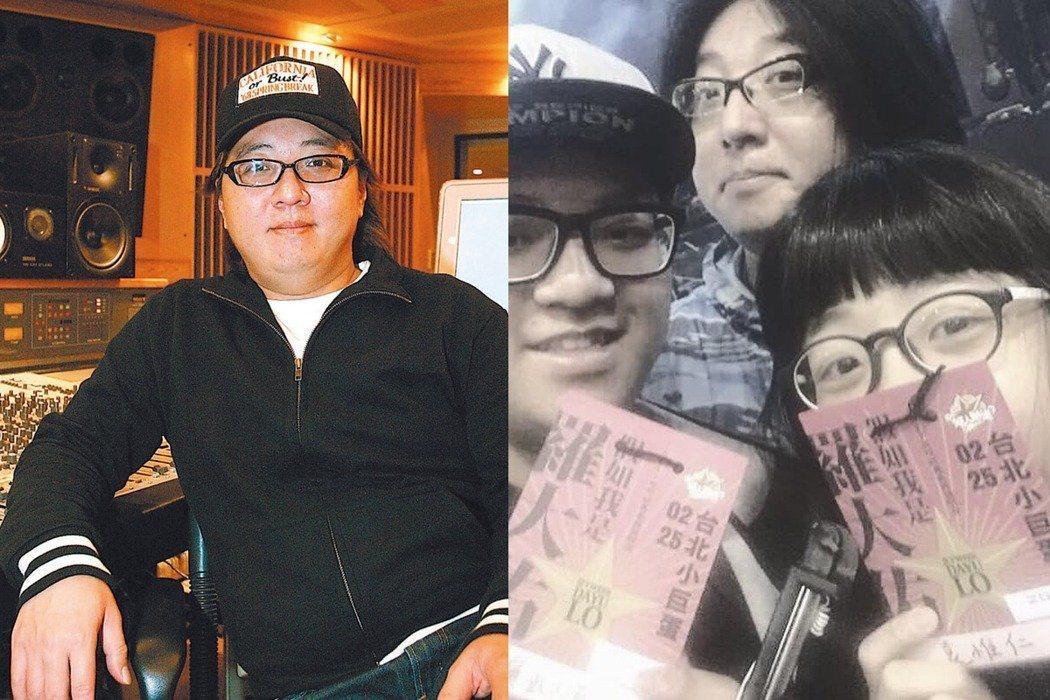 袁惟仁52歲生日,兒子袁義和女兒袁融分別從國中、高中畢業,袁義寫下長文,表達對父