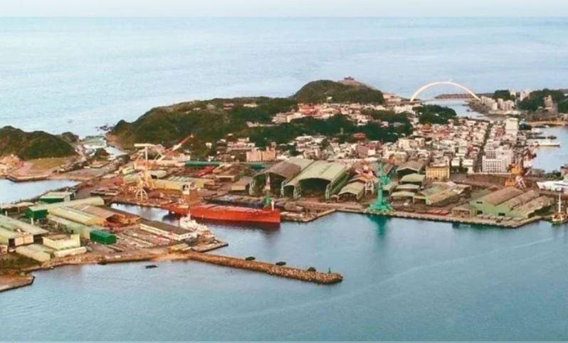 有105年歷史的台船基隆廠,早年叫「木村鐵工所」,是台灣造船業發跡地。圖/基隆市政府提供