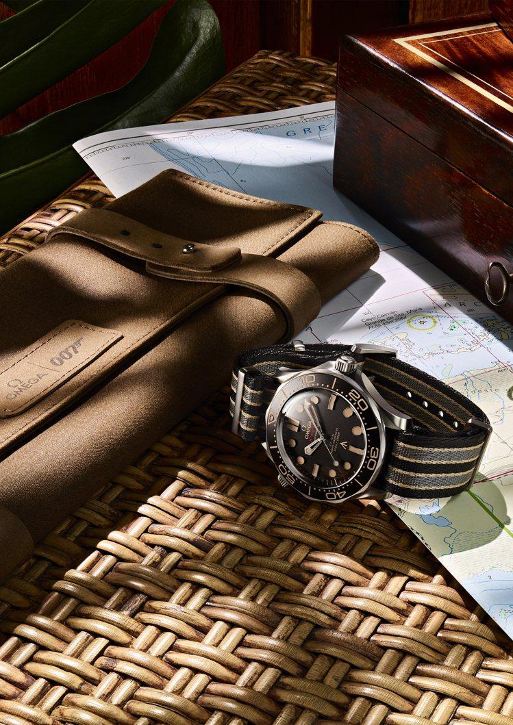 雖然因疫情關係令007電影延遲上映,新款OMEGA 海馬007腕表則已於專賣店販...