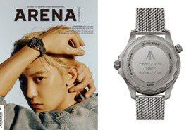 金宇彬 朴燦烈 登男性時尚雜誌封面 OMEGA PANERAI腕表來助攻 率性魅力大爆發
