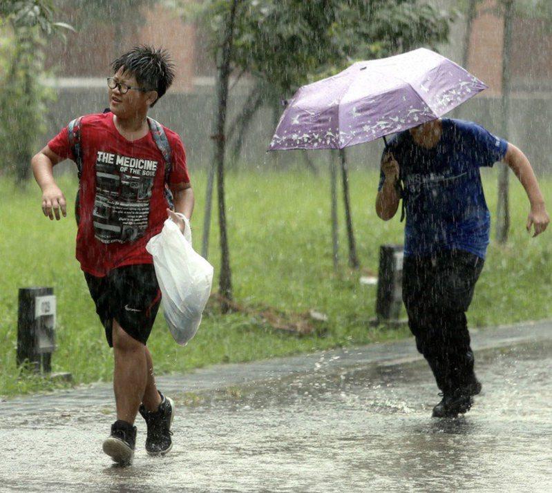 氣象專家說,今年梅雨季5月28日就結束。本報資料照片