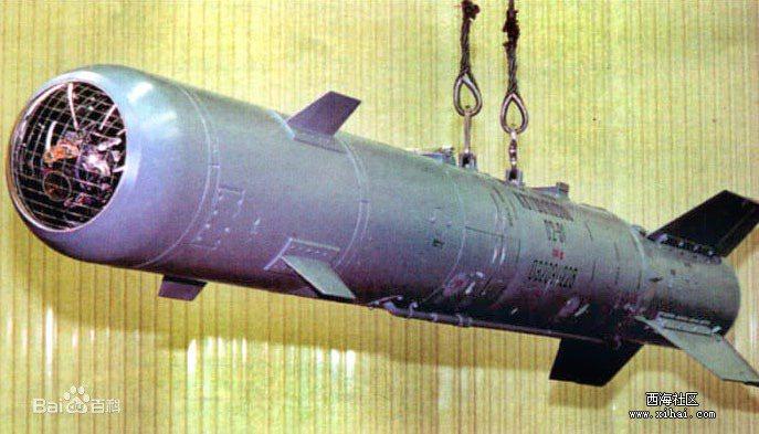 俄羅斯製KAB-1500精準導引炸彈。圖/取自百度百科