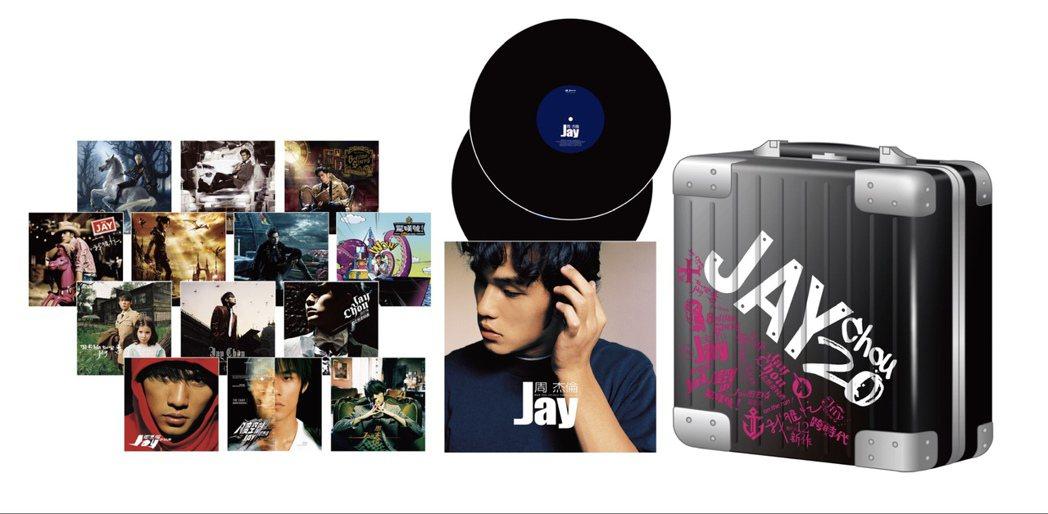 周杰倫14張經典專輯將變身黑膠唱片,也預告將推出第15張專輯。圖/杰威爾提供