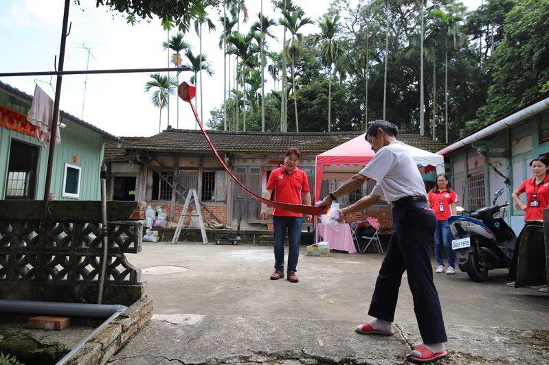 天主教中華聖母基金會協助將阿三居住的古厝原地打掉重建,為他打造一個「家」。圖/天主教中華聖母基金會提供