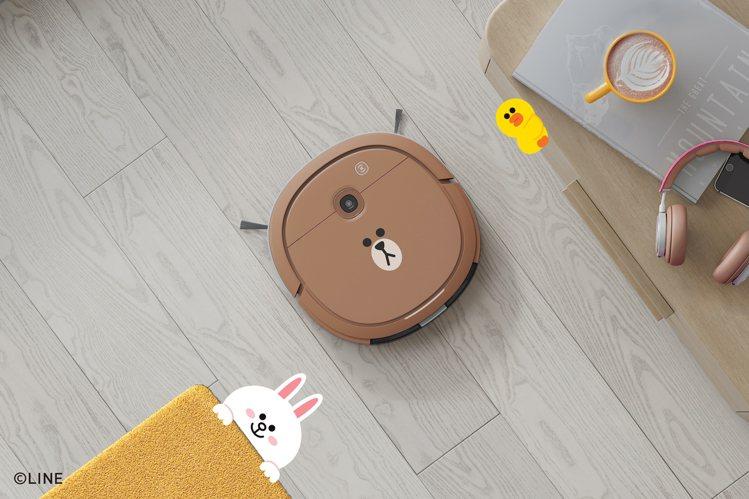 DEEBOT U3 LINE FRIENDS熊大掃拖機器人,建議售價9,900元...