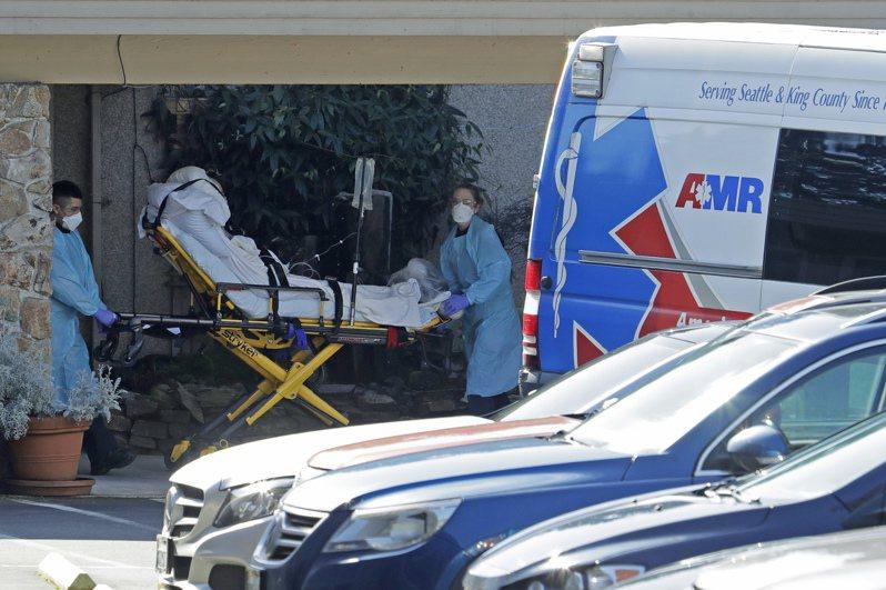 美國華盛頓州科克蘭市的安養院「生命照護中心」3月爆發嚴重的新冠肺炎院內感染。美聯社