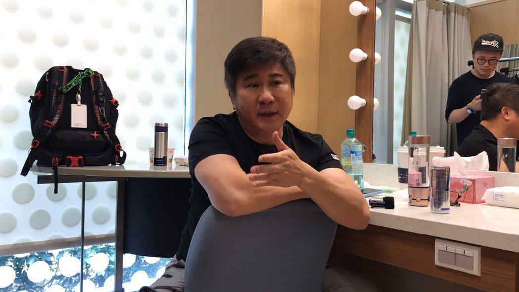 胡瓜今天進棚錄民視「綜藝大集合」,對自己的節目狀況侃侃而談,並談到女兒小禎的優點...